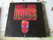 LP 33 12' OST Quincy Jones – Roots (The Saga Of An American Family)