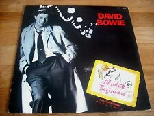 "DAVID BOWIE - ABSOLUTE BEGINNERS - BRAZIL PRESSING ADVANCE PROMO 12"" VINYL MINT"