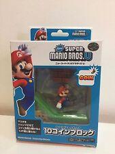 Maruka New Super Mario Bros.U 10 Coins Block Action Sound Figure Nintendo Stage