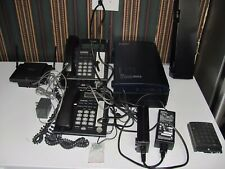Panasonic KX-TDA50  Hybrid IP-PBX LOT WITH 2 HANDSETS AND MORE