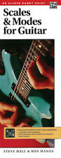 Scales and Modes for Guitar. Handy guide; Manus, R & Hall, S, ALFGB - 4433