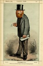 THE RIGHT HONOURABLE W. E. FORSTER LIBERAL PARTY POLITICIAN 1869 VANITY FAIR