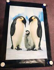3710 LEAP OF FAITH PENGUIN Photo Poster Print Art * All Sizes Animal Poster