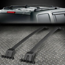 FOR 09-15 HONDA PILOT BLACK COATED ALUMINUM OE STYLE ROOF RACK/RAIL CROSS BAR