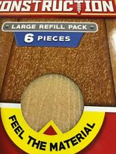 Jakks Real Construction Refill Multi Pack 10 Pieces Toy Wood Saw Nail Build