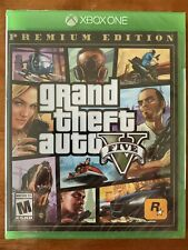 Grand Theft Auto V Premium Online Edition Xbox One Factory Sealed! Lowest Price!