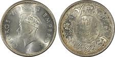 India British ½ Rupee 1939(b) PCGS MS 64