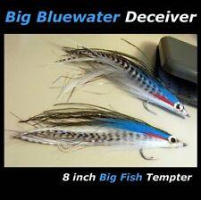 "2 BIG 8"" Bluewater Deceiver flies - Fly Fishing rods - Snapper Kingfish Pelagics"