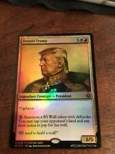 Donald Trump Magic The Gathering MTG card Planeswalker President