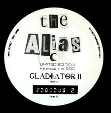"Alias ‎– Gladiator II / Fiction 2 ** HUGE GRIME TUNE ** 12"" Vinyl UK Garage"