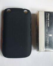 BNIB Blackberry 9320 clip case black phone holder tough protective Curve cover