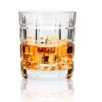 Rock Glasses Set 10 Oz Tumbler for Whiskey Bourbon Vodka Drinking Glassware 4pcs