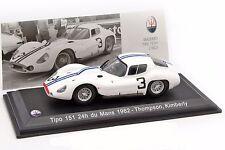 MASERATI Tipo 151 24h du Mans 1962 Thomson, Kimberly  Leo Models 1/43 ABMAS036