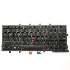 New listing New Genuine Lenovo ThinkPad X270 Us Layout Backlit Keyboard 01Ep062