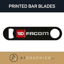 Facom Tools Bottle Opener Printed Stainless Steel Vintage Bar Blade