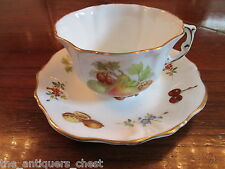 Hammersley England Spode Group tea cup and saucer, winter nuts pattern [*64]