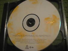 Vintage MADONNA Something To Remember Greatest Hits CD ONLY 400FL-1