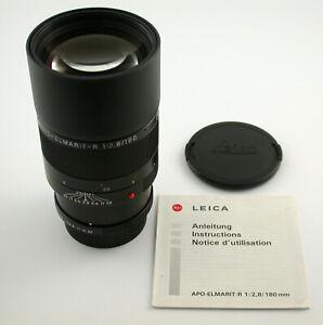 LEICA APO-Elmarit R 2,8/180 180 180mm F2,8 ROM absolut prime adapt. M A7 TOP