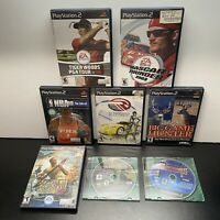 8 Game PS2 Lot-Van Helsing,R:Racing Evolution,Nascar Thunder(Sony PlayStation 2)