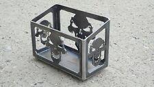 Skull Style Harley Battery Box Motorcycle Battery Holder Custom AF2D 030917