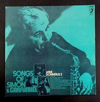 "ARNE DOMNERUS 3 songs of Simon & Garfunkel SPAIN VINYL LP 12"" 33 DISCOPHON 1973"