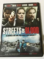 STREETS OF BLOOD DVD 2009 Widescreen. Sharon Stone Curtis 50 Cent Jackson