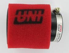 """NEW UNI UNIVERSAL ANGLED 2 STAGE POD AIR FILTER FITS 2 1/4"""" OR 57mm  LOW PRICE"""