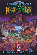 ## SEGA Mega Drive - Powermonger / Power Monger (nur das Modul, ohne OVP) ##