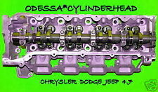 CHRYSLER DODGE JEEP CHEROKEE DAKOTA 4.7 SOHC CYLINDER HEAD DRIVER SIDE NO EGR