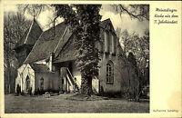 MEINERDINGEN Aufnahme Verlag Buchhandlung Scheling Walsrode um 1940 Postkarte