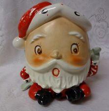 Vintage 1940s Napco Christmas Santa Planter