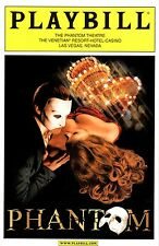 NEW CLOSING NIGHT Collectible Phantom of the Opera Las Vegas Playbill Program