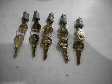 `CompX Timberline Lock Plug-Satin Nickel-Key Number 126T Part # C700LP-15 Qty 50