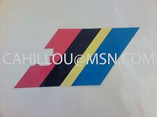 Peugeot 205 Rallye PTS ,Autocollant Sticker  Bandeau de Hayon