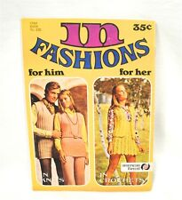 Vtg. Star Book In Fashion Crochet & Knits Manual