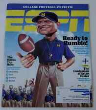 ESPN Magazine 8/1715 College Football Preview & Best/Worst Season Ever