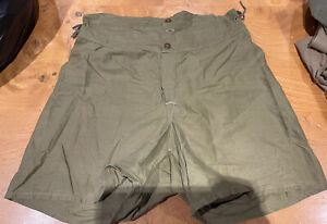 """Ww2 US Army Boxer Shorts/ Underwear Size 32"""" Dated 1943 Tropical/jungle Genuine"""