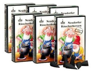 Räucherkegel Räucherkerzen HUSS 24er Schachtel Neudorfer bio Tanne Honig Mini ne