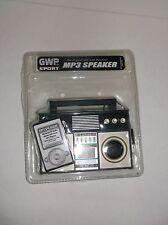 GWP Sport MP3 Boombox Speaker Ghetto Blaster