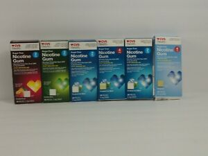 Cvs Health Sugar Free Nicotine Gum Coated Mint 10pcs EXP 2/2021 Lot Of 6 mix lot