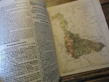LORRAINE - GEOGRAPHIES DEPARTEMENTALES MEURTHE ET MOSELLE 1911 ANNEXION