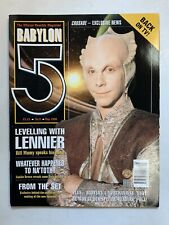 Babylon 5 The Official Monthly Magazine May 1998 No 8 Bill Mummy Lennier