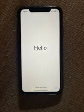 iphone xr blue tmobile/sprint. Factory Unlocked. Apple.