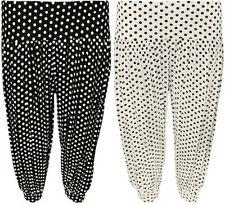 Pantaloni da donna, taglia comoda medio nero