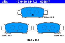 Bremsbelagsatz Scheibenbremse - ATE 13.0460-5847.2