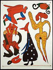 "DDR-arte. ""osterspaziergang"" 1984 serigr. Frieder Heinze (* 1950 D) firmato a mano"