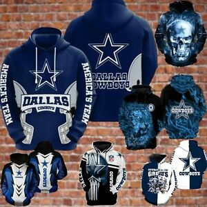 DALLAS COWBOYS - NFL Football Fan - Football Sports - All over Printed 3D Hoodie