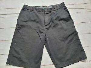 FOX  Racing Mens Size 36 Chino Shorts Flat Front Black