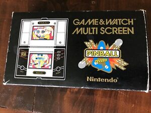 Nintendo Game and Watch Pinball game in box