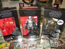 """Star Wars The Black Series 6"""" Commander Pyre Phasma sith jet NEW SEALED lot"""